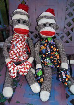 cooking sock monkeys