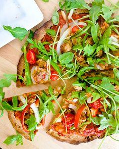 Supreme Pizza with Arugula   #glutenfree