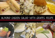 Almond grape chicken
