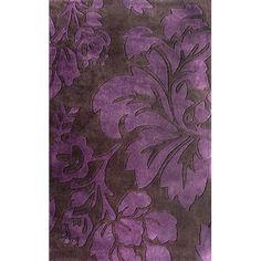 nuLOOM Cine Bella Purple Rug