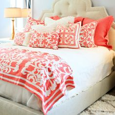 Lili Alessandra Battersea Quilted Ivory/Stone Coverlet or Set