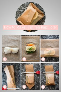 "How to Make Fish ""en Papillote"" 