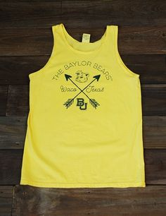 Yellow Baylor Bears,