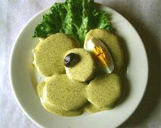 Ocopa receta original - en espanol - entrada - Peruvian food