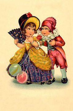 Charming vintage art