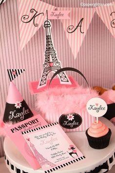 Paris Party Invite