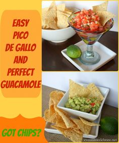 Pico De Gallo & Guacamole Recipe - events to CELEBRATE!