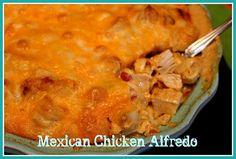 Mexican Chicken Alfredo!