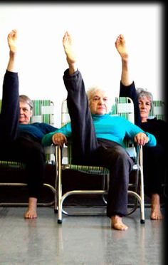 modern dance group comprised of 8 dancers ages 60-88.