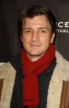 Great photo of Nathan Fillion