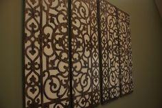 DIY Wall Decor (Using doormats)
