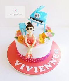 Ballerina cake  Cake by MyCupKates
