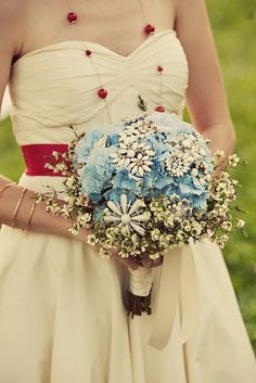 wedding bouquet crafts