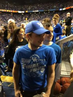 Josh and Conner at the Kentucky game