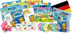 German for kids, learning German language DVDs, flash cards | Teaching German lessons for children, Deutsch