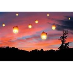 Flying lanterns... I want to do this at my wedding