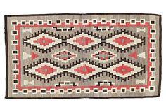 """Antique Navajo Rug, 4'8"""" x 8'6"""""""