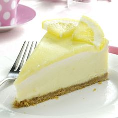 Creamy Lemon Cheesecake Recipe from Taste of Home