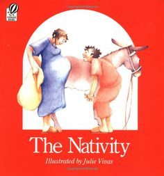 The Nativity - Luke 2 with watercolor illustrations by Julie Vivas.  They read this at CHRISTmas Eve service this  year.