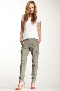 Skinny Military Cargo Pant