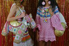 Katie Jones #Crochet #Fashion: Color and Granny Squares