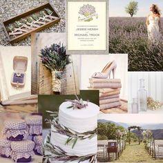 Color Inspiration - lavender and sage