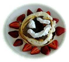 food, face pancak, smiley face