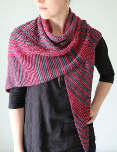 Itineris Shawl By Hilary Smith Callis - Purchased Knitted Pattern - (ravelry)