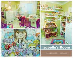 Sew sweet Lalaloopsy themed room!