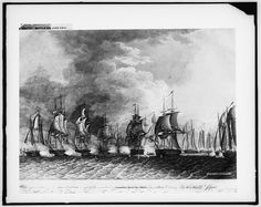 Battle on Lake Erie, September 10 1813, during the War of 1812.