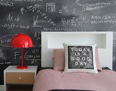 Nathan's math room @Melissa Squires Whitman