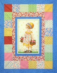 Mary Engelbreit panel quilt
