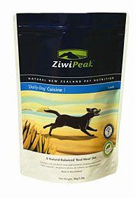 $25.75-$35.77 ZiwiPeak Real Meat Grain Free Air Dried Raw Dog Food, Lamb, 2lb - The food in each bag of ZiwiPeak 'Daily-Dog' Cuisine is the product of gently air-dried raw materials (ranch-raised  muscle meat, green tripe and internal organs, all hormone- and anti-biotic free) and is the only raw shelf-stable diet in the world. ZiwiPeak products are formulated to reflect the diet that dogs would  ...