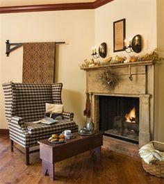 Setee  fireplace