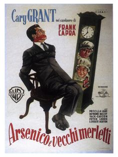 Arsenic and Old Lace  1944  Comedy   Crime   Romance  http://www.imdb.com/title/tt0036613/?ref_=fn_al_tt_1