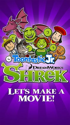 Toontastic Jr. Shrek - excellent app for digital storytelling using Shrek characters.