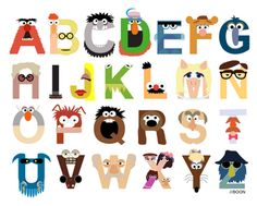I love the Muppets! #typeface #Muppets