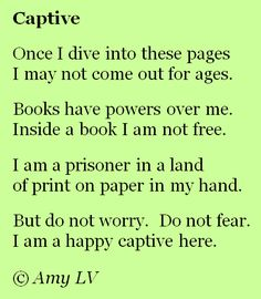 """I am a happy captive here."""