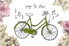 Playlist: Songs For Bikes http://blog.freepeople.com/2013/01/playlist-songs-bikes/