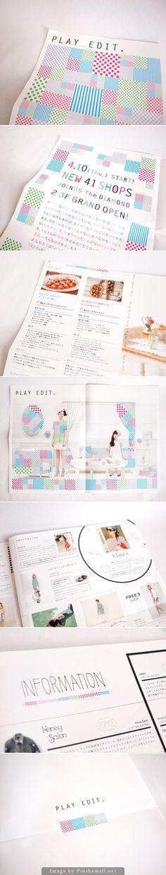 Love the playful pattern integration