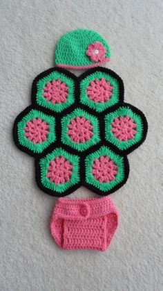 Crochet Turtle Photo Prop for Newborn Baby by WildBerryPrimitives, $25.00