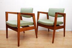 Gunlocke 60s chairs