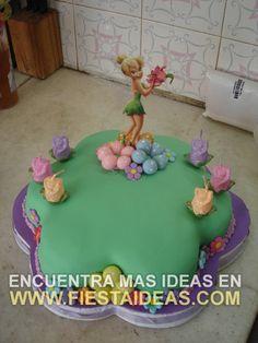 idea de Torta campanita - tinkerbell