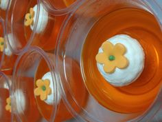 Orange jello for orange party