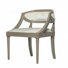 Luna Chair - Greige #RebekahLinkowski