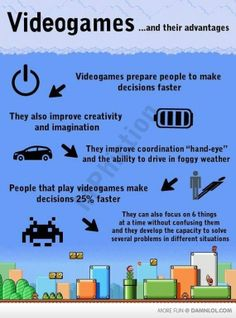 Videogames And Their Advantages