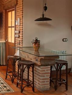 Mi casa on pinterest small apartments small spaces and - Muebles para apartamentos ...