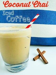 Coconut Chai Spiced Iced Coffee (must try!!!!)
