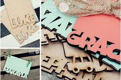 Talk About a Hardback - Personalized Wooden Books #woodenbooks pickyourplum.com