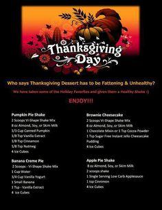 dessert ideas, thanksgiving recipes, vi shake recipes, holidays, holiday recipes, thanksgiving desserts, pumpkin pies, vi shakes, apple pies